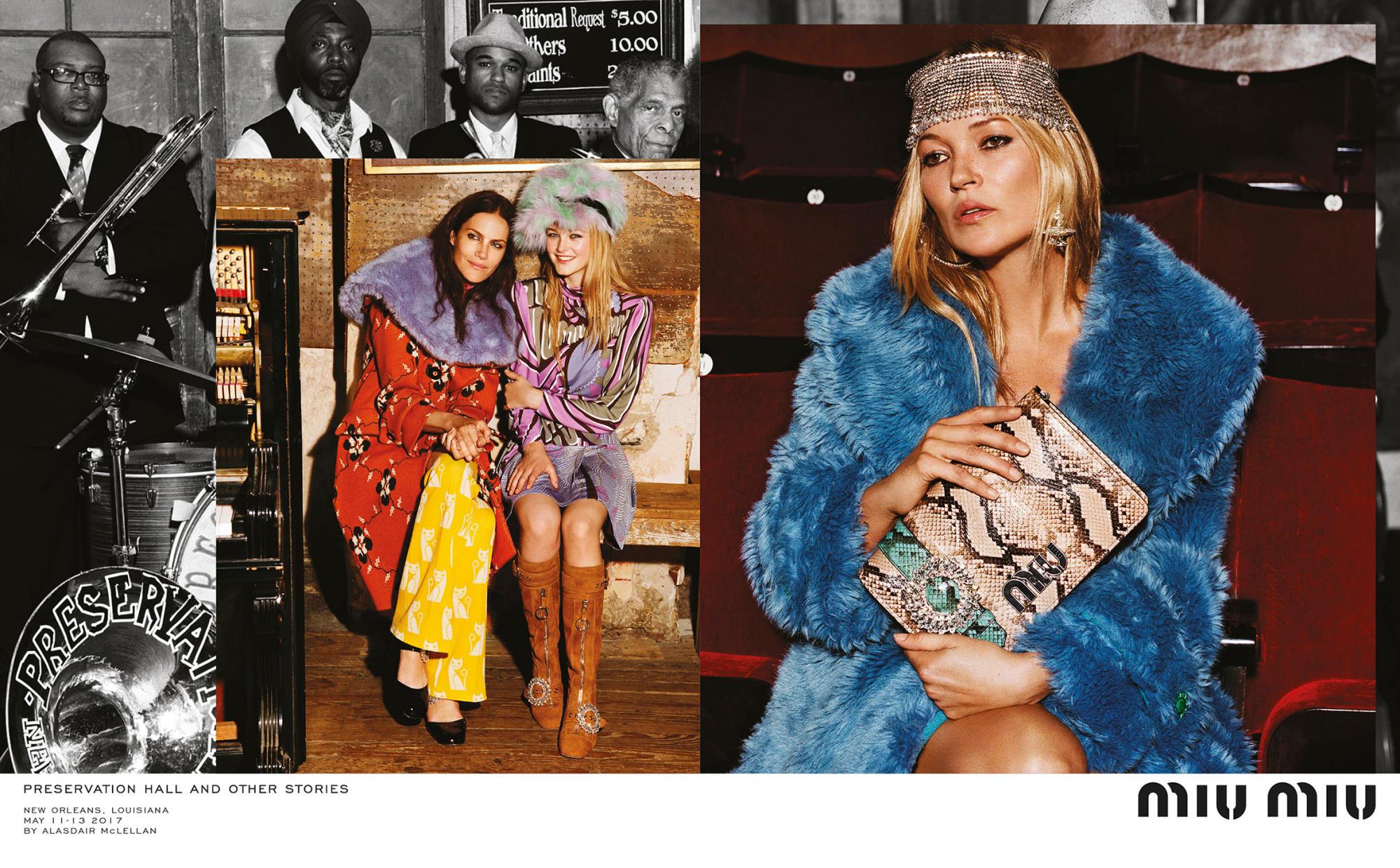 Naomie Harris, Kate Moss i inne gwiazdy w kampanii MiuMiu!