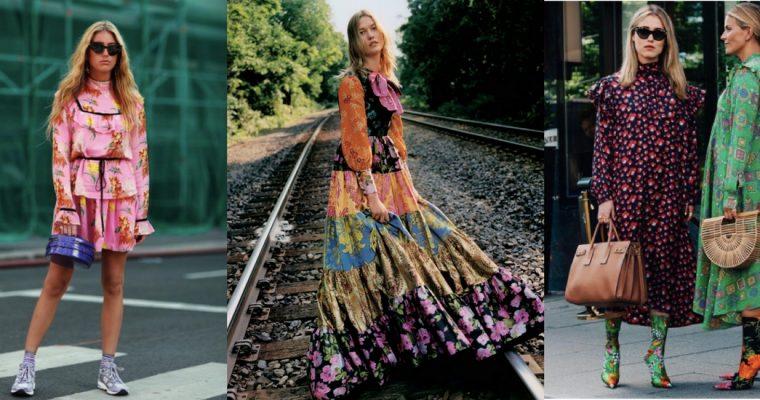 Kwieciste wariacje – inspiracje z sukienką w roli głównej
