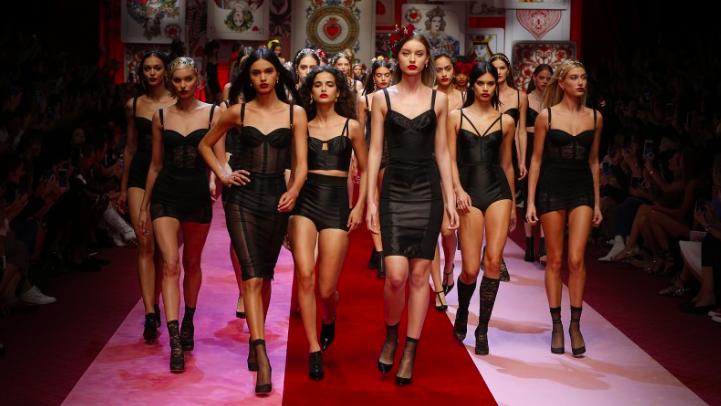 Milan Fashion Week: Królowa serc Dolce&Gabbana