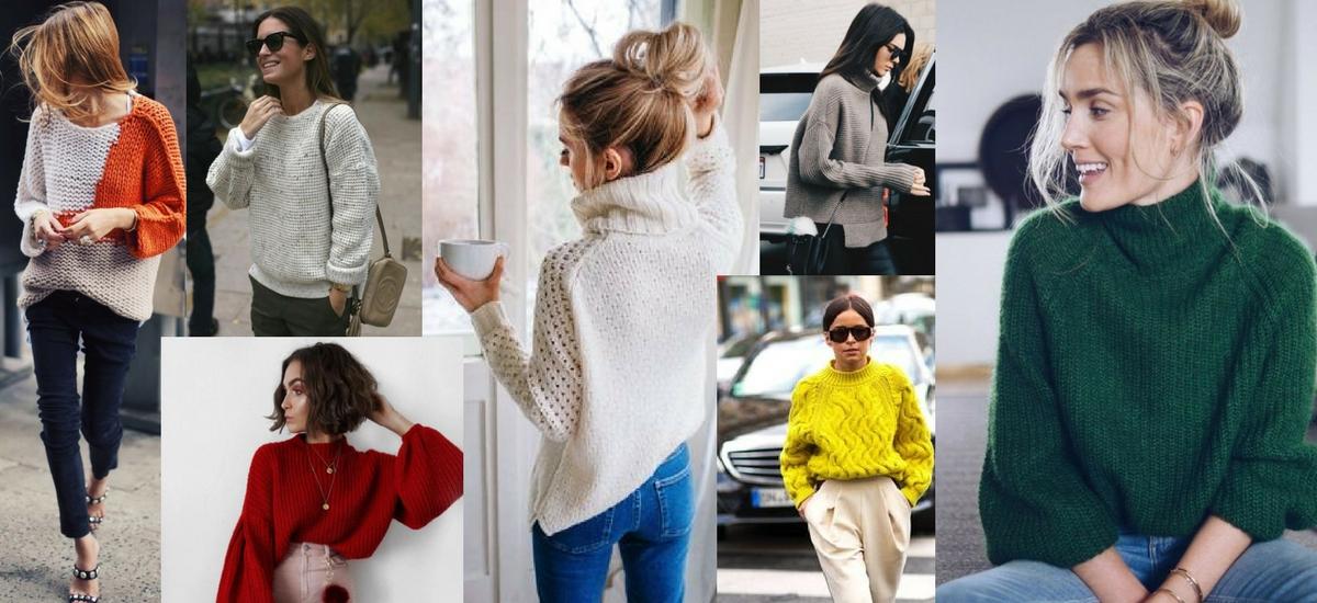 Sweater weather – czas na jesienne swetry