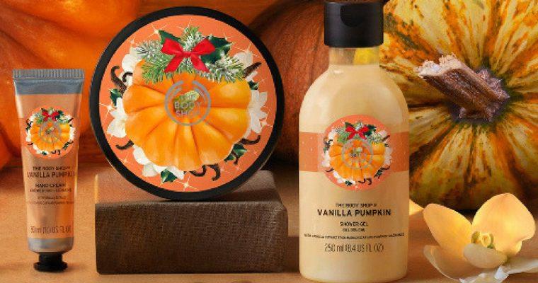 Cukierek albo psikus – limitowana linia Vanilla Pumpkin od The Body Shop