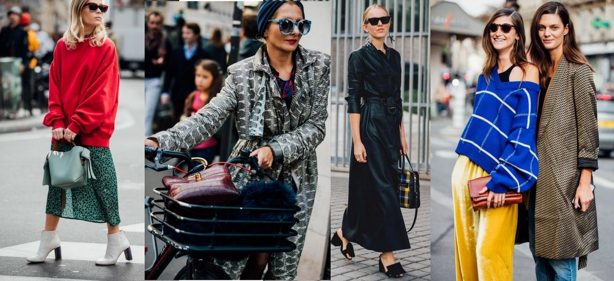 Paris Fashion Week SS18 – moda uliczna