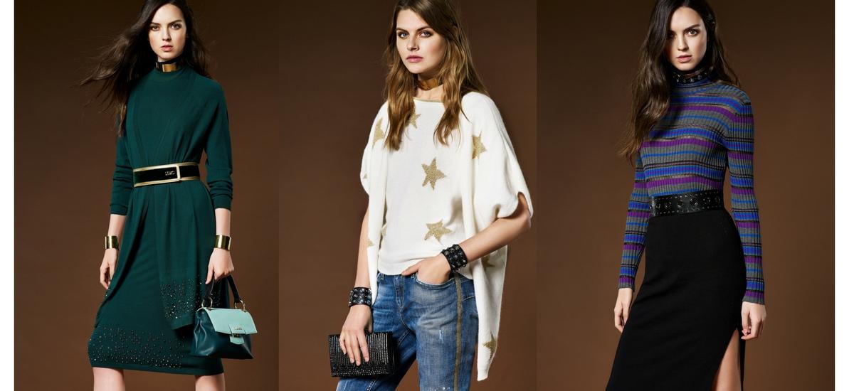 Liu Jo Kolekcja przytulnych swetrów Knitwear AW17