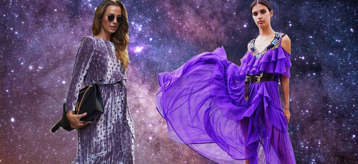 Ultrafiolet w stylizacjach – inspiracje