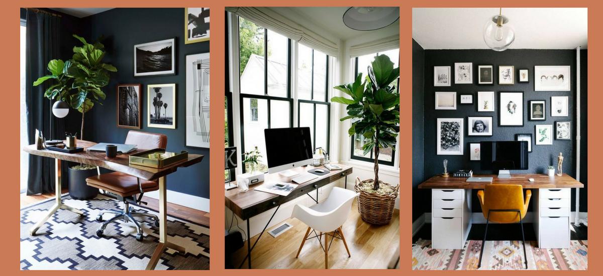 Office ideas – inspiracje wnętrzarskie do Twojego domowego biura