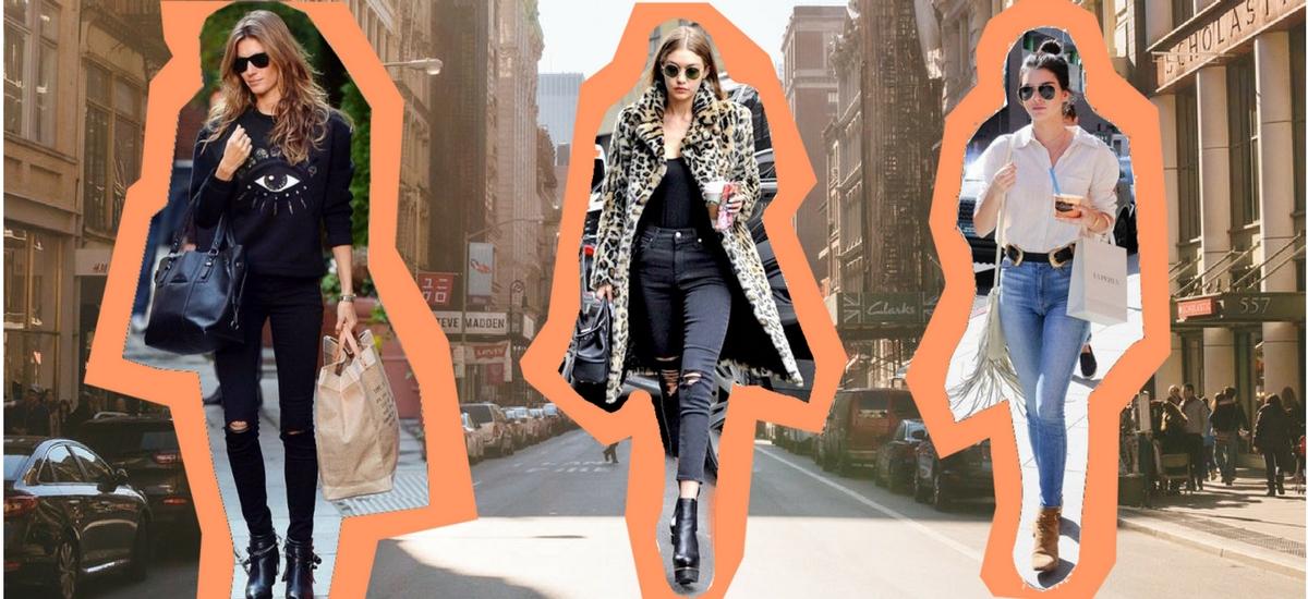 Skinny jeans: najlepsze modele tego sezonu