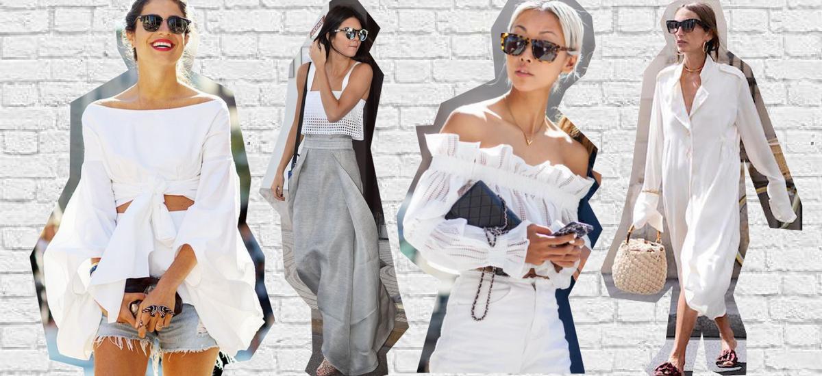 Biel – czyli jak nosić najbardziej wszechstronny odcień lata