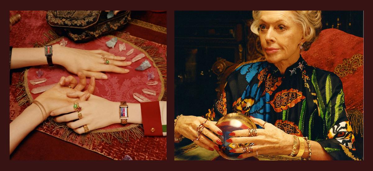 Tippi Hedren w nowej kampanii bizuterii Gucci