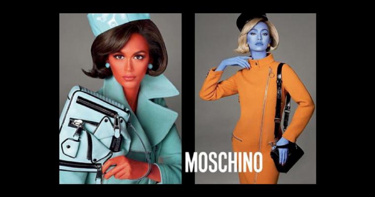 Kaia Gerber & Gigi Hadid w najnowszej kampanii Moschino