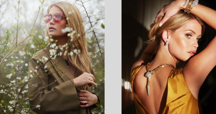 Bratanica księżnej Diany – Kitty Spencer w najnowszej kampanii biżuterii Bvlgari!