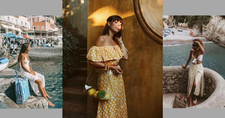 Amafli look: stylizacje blogerek z najsłynniejszego włoskiego wybrzeża