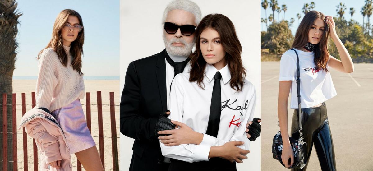 Karl Lagerfeld x Kaia Gerber wypuszczają wspólną kolekcję!
