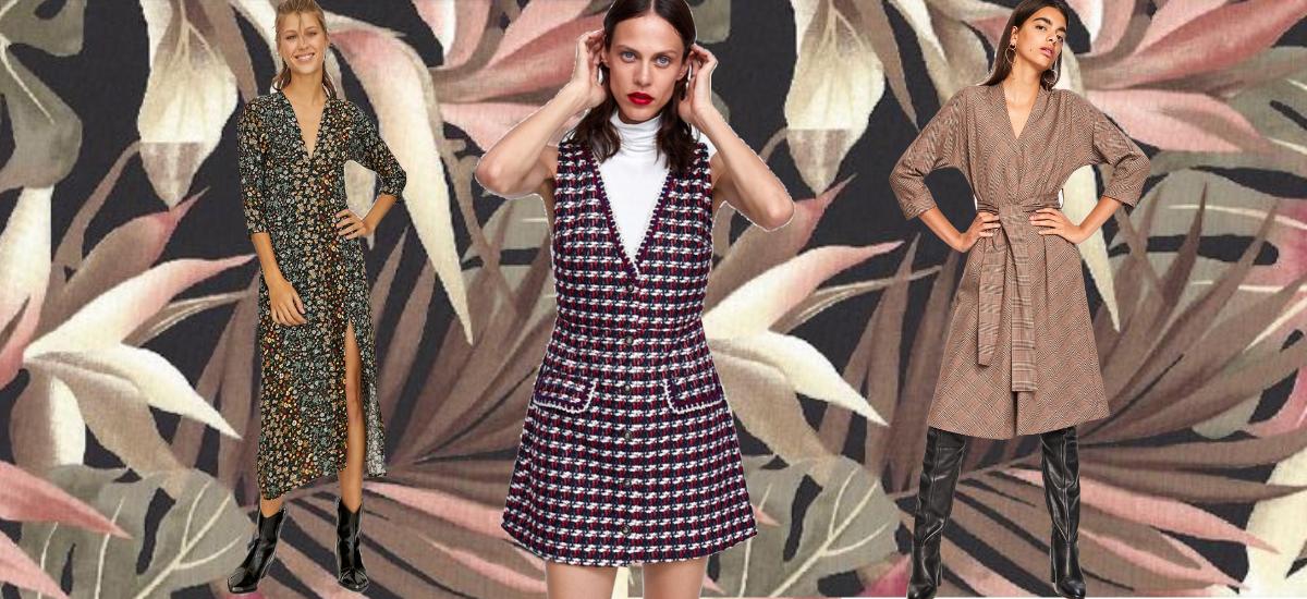 Najmodniejsze sukienki na jesień, które kupicie w sieciówkach