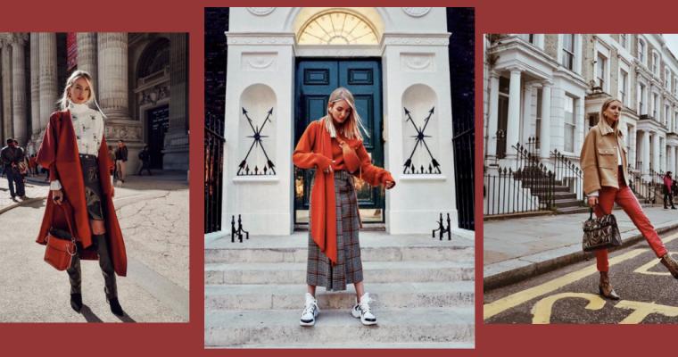 GET THE LOOK: Jesienny styl Leonie Hanne