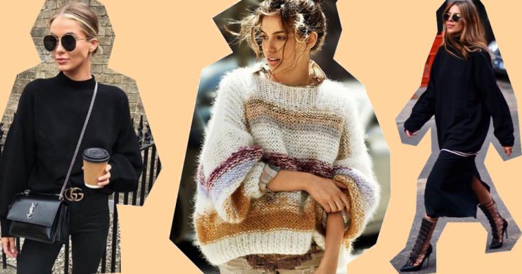 TREND ALERT: Swetry idealne na jesień – przegląd