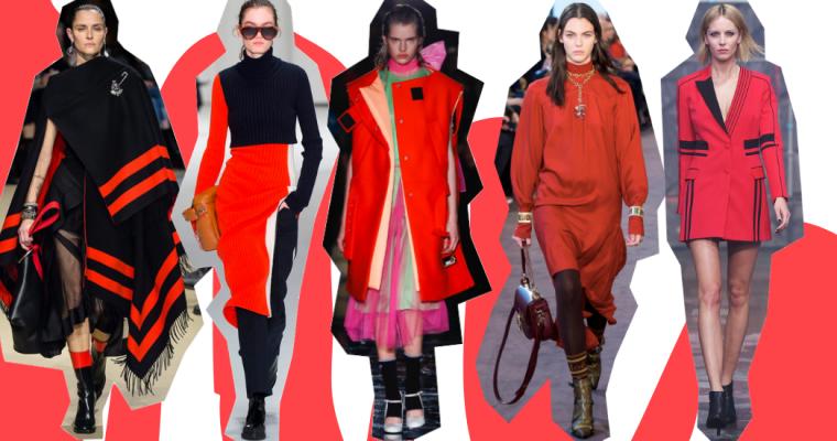 TREND ALERT: Zima w odcieniach czerwieni