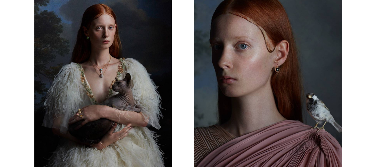 Kampania biżuterii Gucci jako dzieło sztuki