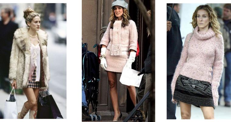 #GET THE LOOK: Zimowa garderoba Carrie Bradshaw