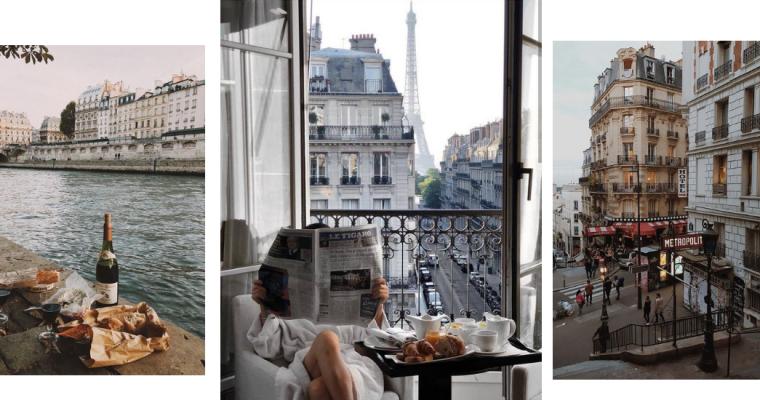 Instagramowy przewodnik po Paryżu