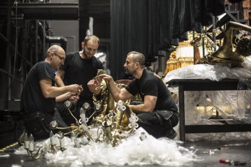 Upiór w Operze - Dekoracje